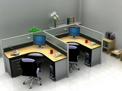 1.2办公桌安装步骤图解