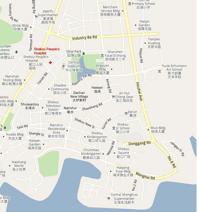 找医院 深圳市蛇口人民医院 新闻列表 医院地图